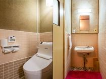和室三人部屋(バスなし) トイレ