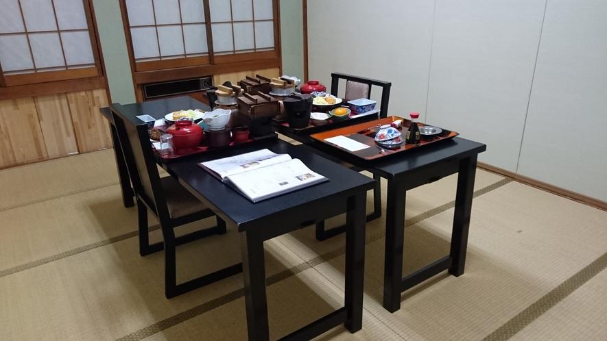 夕食 個室 ※イメージ