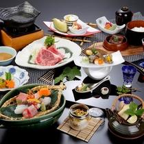 【匠-たくみ-コース】料理一例。