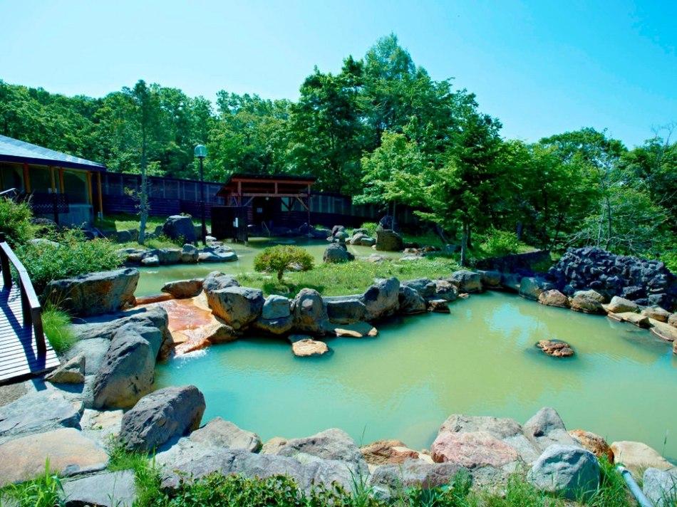 夏の大露天風呂