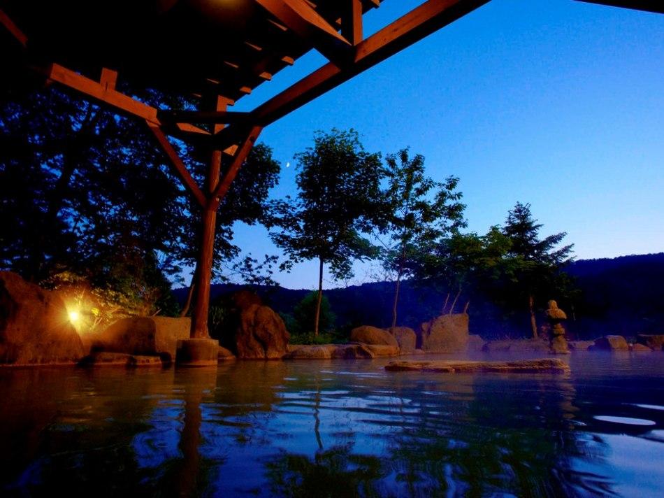 夏の露天(夜)(3)