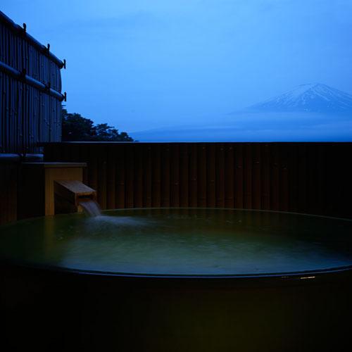 807 17.5TW露天風呂付富士山 露天風呂