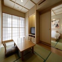 7.5畳+TW(ミストサウナ付)客室
