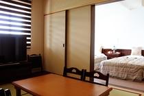 海側和洋室