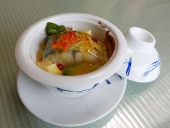秋刀魚の柚子味噌チーズ焼き