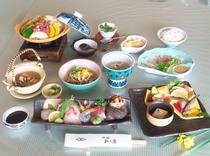 内子豚を使った 冬の松乃屋郷土懐石料理を愉しむ