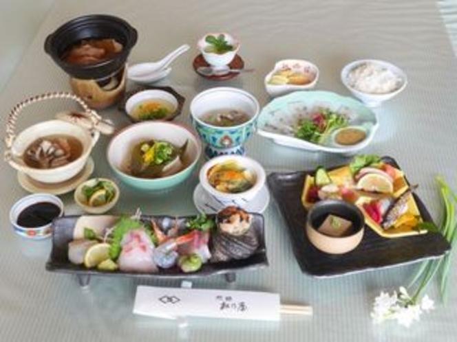 春の南予を食す!!松乃屋の郷土懐石料理を楽しむ