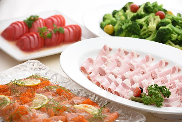 ランチバイキング(洋食料理)