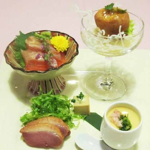 【夕食一例】:2♪
