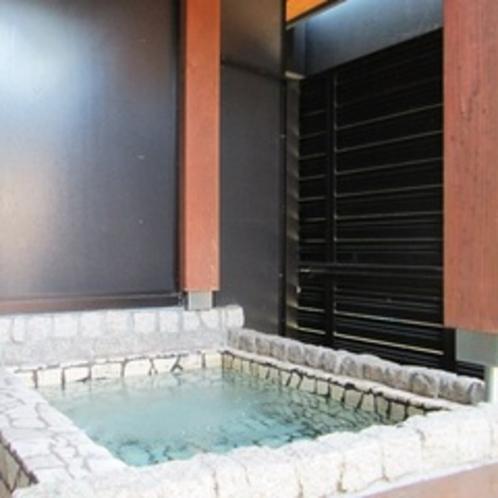 【客室露天風呂♪】