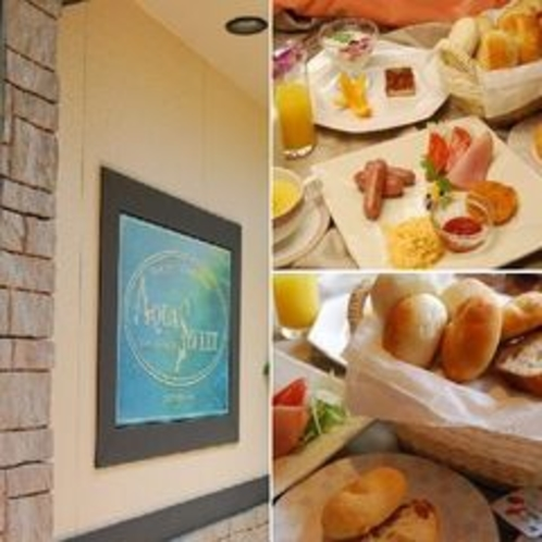 外観&朝食