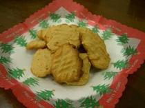 女将手作り無添加ピーナツバタークッキー