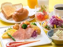 朝食バイキング_洋食盛り付けイメージ