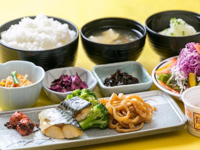朝食バイキング_和食盛り付けイメージ