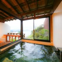 ■プライベート空間で絶景をひとり占め■露天風呂付客室