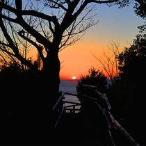 【景観】宿からの夕景