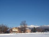 冬・宿外観