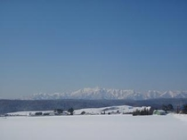 冬・芦別岳連邦