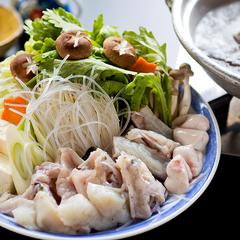●お料理を楽しむ●≪冬季限定≫てっちり(ふぐ鍋)プラン
