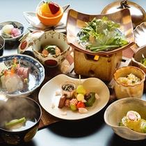 """◆基本会席◆旬の食材を使用し、""""味""""と""""技""""にこだわった旬の基本会席をご用意致します"""