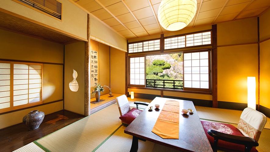 【竹の間-TAKE-】繊細な 『数寄屋意匠』 ありのままの自然を愛しむ