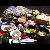 ■【夕食】八幡平ポークのせいろ蒸し&選べる鍋会席