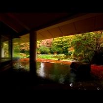 ■【温泉】檜造り露天風呂-季-