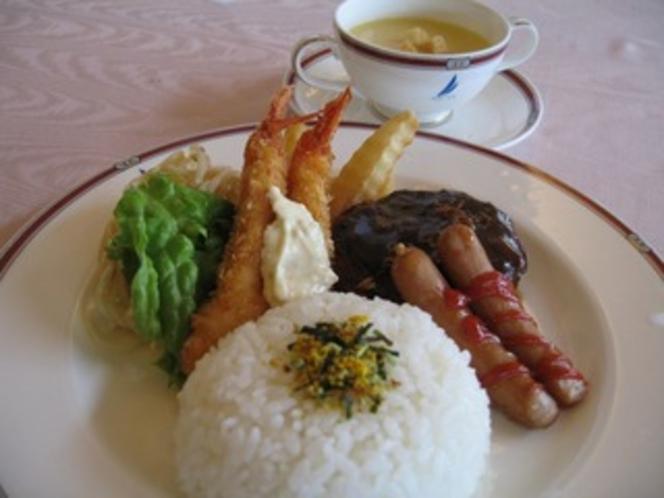 キッズプレート(幼児用食事1100円当日オーダーOK)