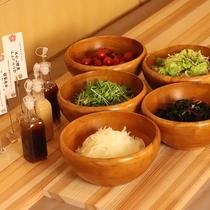 ◎ご朝食:サラダコーナー