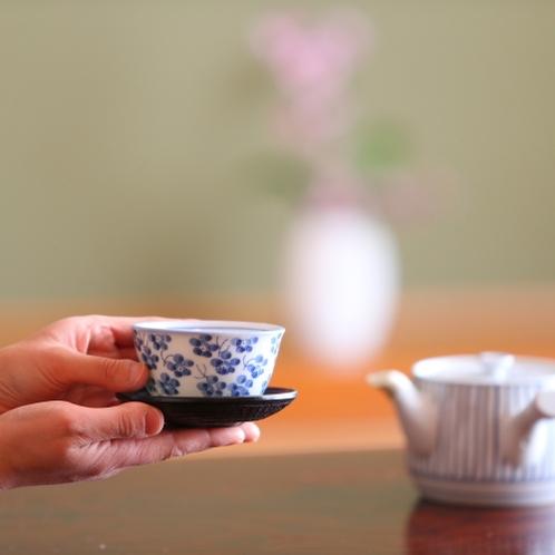 ■和室にはお茶セットがご用意してあります。