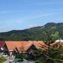 軽井沢の風景(軽井沢ショッピングプラザ)