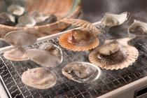 海鮮焼き:アワビはオプションです