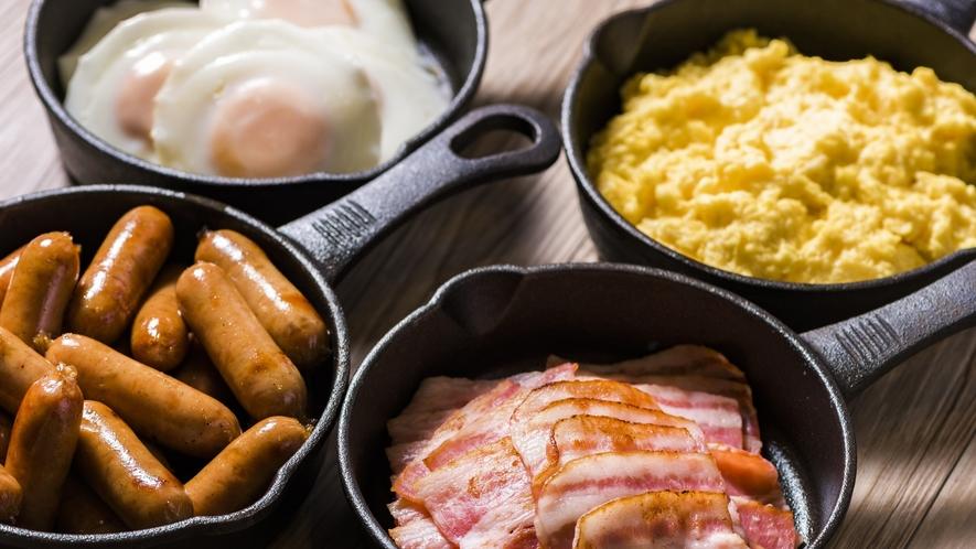 朝食洋食メインおかず