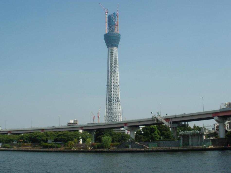 東京スカイツリー(撮影2010.9.11)