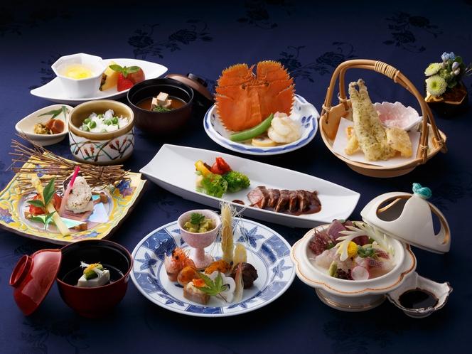 <日本料理 春日>会席コース。(イメージ)