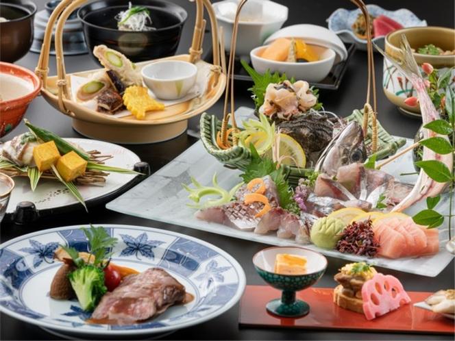 日本料理 春日<長崎和牛とお造り会席>※写真のお造りは2人前です。