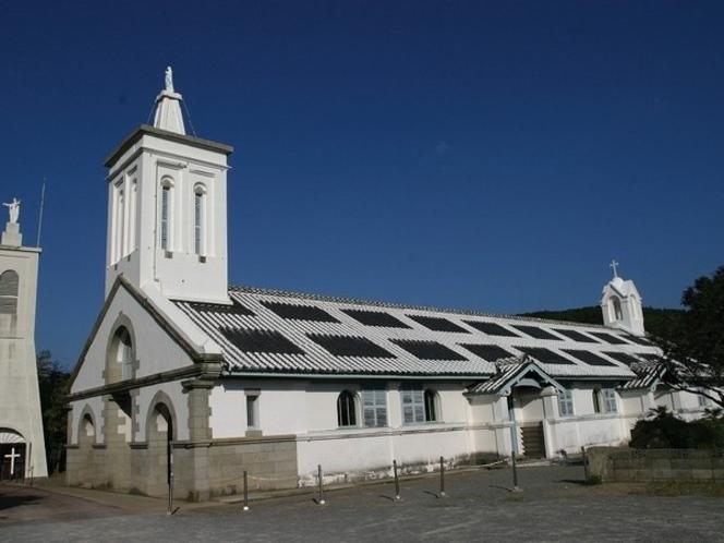 世界遺産:出津教会堂(当館から車で38分)