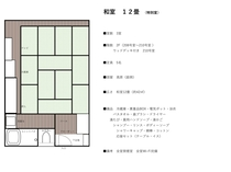 特別室12畳 3室(全室禁煙)