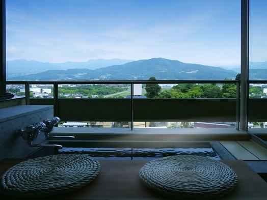 【個室】蔵王連峰を一望するビューバスと山形の味覚を個室で味わう『翠葉亭』0402