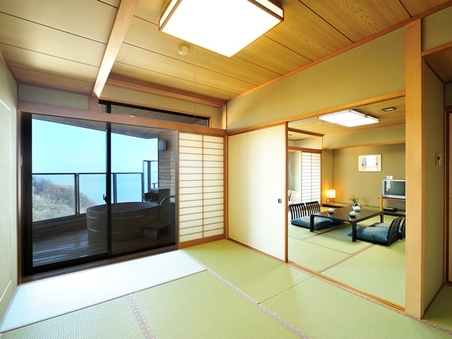 w:【露天風呂付客室】お部屋から三河湾のパノラマ眺望を満喫