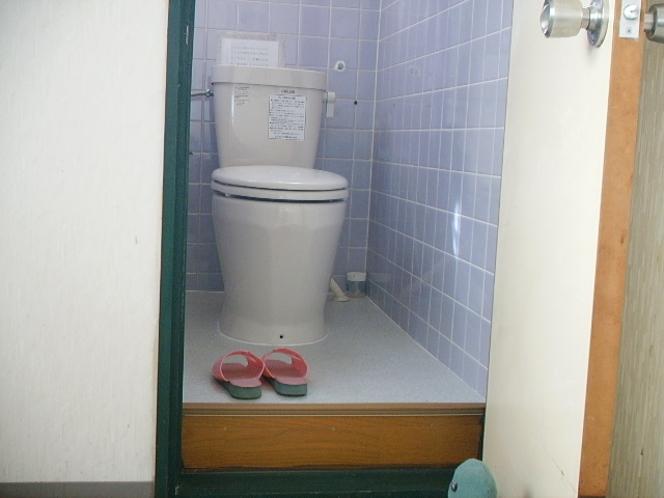 洋式のトイレ