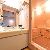 【洋室バスルーム一例】全室完備しております。