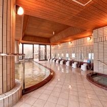 【展望ラジウム風呂】三河湾を見渡す眺望が最高の贅沢♪体の芯から温まるラジウム風呂で癒しのひと時を。