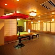 【日本料理『四季亭』】大小さまざまなお座敷をご用意しております。