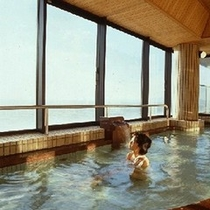 【展望ラジウム風呂】三河湾を眺めながら、ナノウォーター使用の体に優しいお風呂をどうぞ!