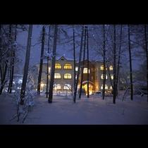 ベルツ 冬景色1