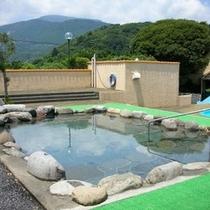 ◎三菱管理センターの露天風呂