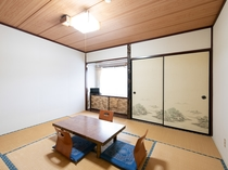 和室三人部屋(バス・トイレ無し)