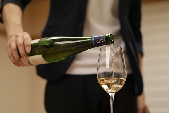 【夏旅セール】【日本酒×フレンチ】日本酒ペアリングプラン<お夕食第2部:20時>