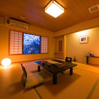 【桜】源泉かけ流し露天風呂付和室(10畳)禁煙 標準定員2名